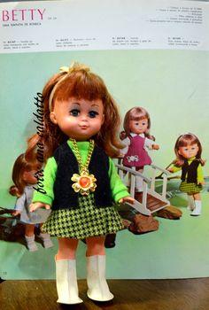 Boneca Betty da Estrela