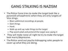 9 Best Gang Stalking images in 2017 | Alone, Black ops, Crazy people