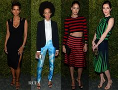 Many well- known faces are helping raise awareness for the cause at the WFP dinner hosted by Michael Kors World Food Programme, World Hunger, Halle Berry, United Nations, Red Carpet Fashion, Highlights, Awards, Faces, High Neck Dress