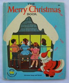 Merry Christmas Book Vintage Wonder Book by Jean by TheVintageRead