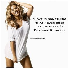 Serious Lady Crush on Beyonce :)