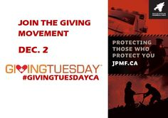 Taking place on Dec. 2nd, Giving Tuesday marks the opening day of the giving season. Giving Tuesday is a day where charities, companies and individuals rally for their favourite causes to promote charitable giving and volunteering.   The John Petropoulos Memorial Fund (JPMF) is a proud partner of the Giving Tuesday movement and there are several ways you can show support for us and the start of the giving season this year. Learn more at www.jpmf.ca