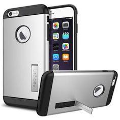 Защитный чехол Slim Armor Satin Silver Серебро для iPhone 6 Plus