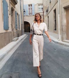 French Outfits: 10 Totally Parisian Outfits to Copy Now | Who What Wear