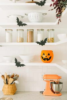 Elsie's Halloween Home Tour - A Beautiful Mess
