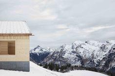 Ski Lodge Wolf | Bernardo Bader Architects #AdolfBereuter #Austria #BernardoBaderArchitects #Concrete #Lech #material #Oberlech #SkiLodge #SkiLodgeWolf #Sustainability #sustainable #SustainableBuilding #Wood