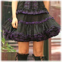 GLP Lolita Gothic punk visual Bows Mini Skirt 61021 BP