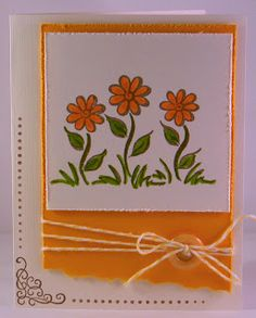 DeNami Fall Flowers card by @Tina Milbourn