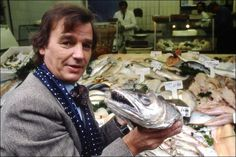 #80s Chef Keith Floyd who had numerous cooking series through out the 1980s.  He was an absolute legend and re wrote the rule book on cooking shows.