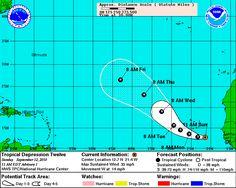 Hurricane Julia Maps|Tropical Storm Julia Maps|Cyclone Julia Maps ...