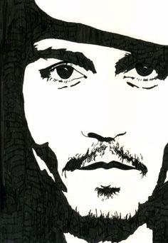 Johnny Depp sketch