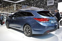 Hyundai. the i40 is essentially a Sonata wagon with a choice of two gasoline or two diesel engines, including a 1.7-liter turbodiesel good for 134 horsepower.