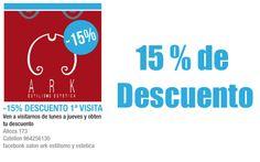 ARK Estilismo: 15% Descuento Primera Visita http://www.castellom.com/ver_entrada/44.html