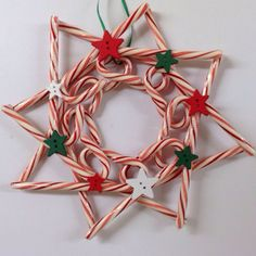 27 Amazing Candy Cane Crafts To Make Your Christmas Special — remajacantik Candy canes are to Christmas as pumpkins are to Halloween, so creating some amazing crafts with them is simply a must for this holiday season. Candy Cane Decorations, Candy Cane Crafts, Candy Cane Wreath, Christmas Candy, Christmas Time, Christmas Wreaths, Christmas Decorations, Christmas Ornaments, Christmas Parties
