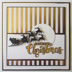 artesanía Berry elaboración de tarjetas álbumes de recortes plantilla Navidad Robin Corte De Metales Die