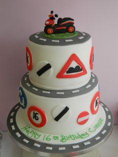 driving learner cake