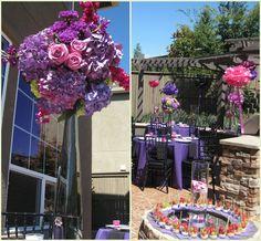 Purple, Pink Bridal Shower