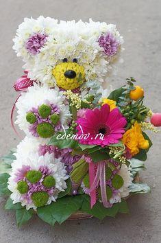 Композиция звери (Kz 11) из  - Интернет магазин цветов ЭДЕМ в Хабаровске