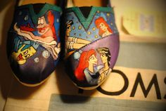 More Little Mermaid TOMS. These are way cheaper. Lovelovelove.