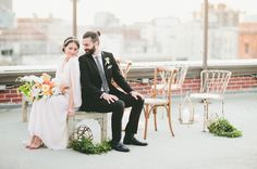 Urban Meadow Wedding Inspiration