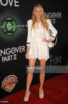 Actress Blake Lively arrives at a Warner Bros. Pictures presentation to promote her new film, 'Green Lantern' held at Caesars Palace during CinemaCon, the official convention of the National Association of Theatre Owners, March 31, 2011 in Las Vegas, Nevada.