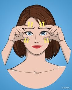10 Exercises for a firm and healthy face- 10 Exercises for a firm and healthy face Face Skin Care, Diy Skin Care, Beauty Care, Beauty Hacks, Facial Yoga, Face Exercises, Rides Front, Hair Issues, Les Rides