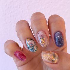 #mynail #jillandloversme#jillandlovers#paragel#nail#天然石ネイル