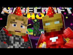 Minecraft MineVengers - IRONMAN'S SURPRISE BIRTHDAY PARTY! - YouTube