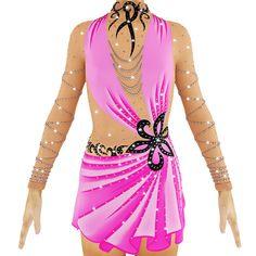 Rhythmic Gymnastics Leotard, Ice Figure Skating Dress by beautyleotards on Etsy