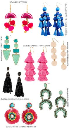 style + statement earrings for spring | whimsical charm