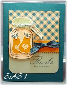 "Using this idea as a ""spring board"" idea for me to use my ""Lyrical Letters"" Cricut cartridge for the pear image so I can use my ""cute pear"" stamp set - Amber"