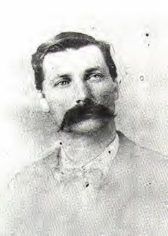 "William ""Bill"" Doolin 1858-1896, leader of the Doolin-Dalton gang based in Oklahoma.  Killed by federal marshals led by Heck Thomas."
