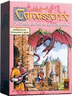 Carcassonne uitbreiding - De Draak, de Fee en de Jonkvrouw