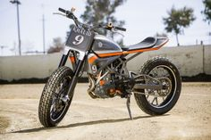 KTM 690-based tracker by Roland Sands Design Click to read more about