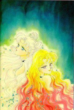 Princess Serenity and Galaxia