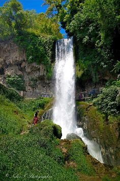 Waterfalls-Edessa, Central Macedonia,  Greece