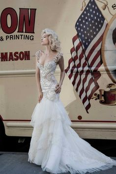Stunning Pnina Tornai Wedding Dresses Part II - MODwedding