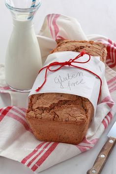 Chleb bezglutenowy na drożdżach Polish Recipes, Vegan Gluten Free, Clean Eating, Good Food, Food And Drink, Bread, Cheese, Cooking, Kitchen