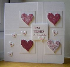 Hearts and Bling request by: Chrissys4cards