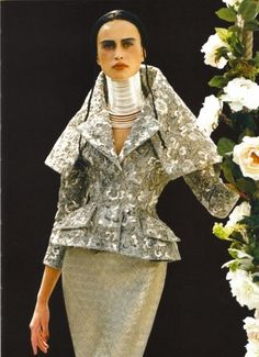 From Christian Dior Couture, Fall 1997 Collection