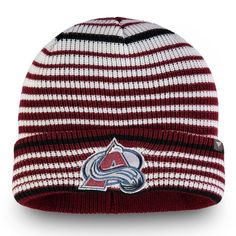 watch 0b219 5c3c9 Men s Colorado Avalanche Fanatics Branded Burgundy Iconic Layer Core Cuffed Knit  Hat, Your Price   21.99