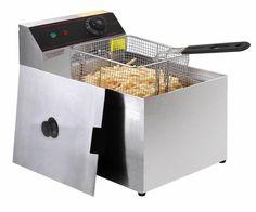 2500W Deep Fryer Electric Commercial Tabletop Restaurant Frying w/ Basket Scoop #ad