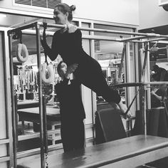 [To] LiveWELL relies in part on moving freely and often.  #PilatesStrong #likeagirl #pilatesmonkey