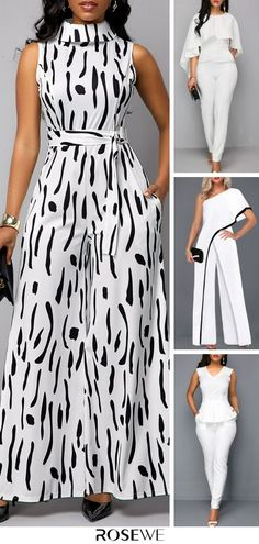 Casual Jumpsuits For Women 2020 - Source by - Latest African Fashion Dresses, African Dresses For Women, Women's Fashion Dresses, Classy Dress, Classy Casual, Stylish Dresses, Jumpsuits For Women, Chic Outfits, Party Dress Outfits