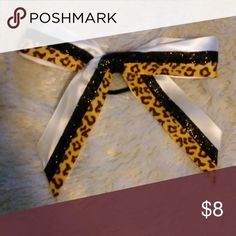 Selling this Hair bow on Poshmark! My username is: kelsie_03. #shopmycloset #poshmark #fashion #shopping #style #forsale #Accessories