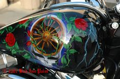Custom Airbrushing Motorcycle Art - intoAutos.com - Image Results