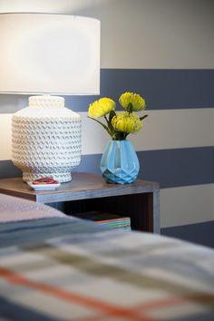 Bedside Table in Blog Cabin's Guest Bedroom