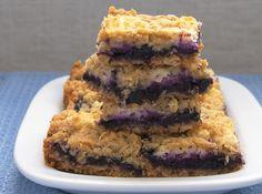 Blueberry Jam-Cream Cheese Bars - Bake or Break