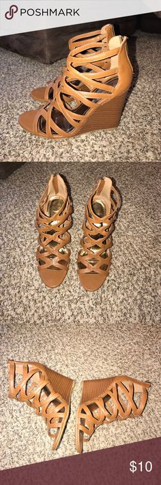 Wedges Worn a few two time but in good condition Shoes Wedges