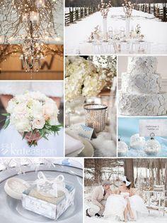 "Elegant ""Winter Wedding"" Favors, Snowflake theme favors:  Favor Couture"